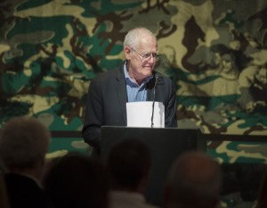 James Salter reads from his latest book at the Menil Collection, May 6, 2013.