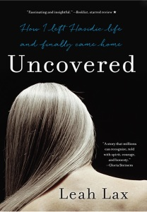 Book jacket for Uncovered by Leah Lax